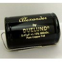 Alexander copper foil capacitors